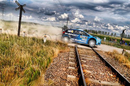 02.07.2016. Mikolajki, Poland. WRC Rally of Poland, stages 12-17.  Eric Camilli (FRA) – Nicolas Klinger (FRA) - Ford Fiesta RS WRC