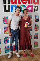 Oscar Casas and Elena Furiase attends to Nutella presentation at Luchana Theatre in Madrid, Spain. September 05, 2018. (ALTERPHOTOS/A. Perez Meca) /NortePhoto.com NORTEPHOTO.COM