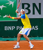 28-05-13, Tennis, France, Paris, Roland Garros, Thiemo de Bakker