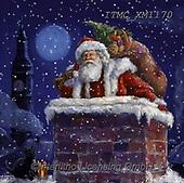 Marcello, CHRISTMAS SANTA, SNOWMAN, WEIHNACHTSMÄNNER, SCHNEEMÄNNER, PAPÁ NOEL, MUÑECOS DE NIEVE, paintings+++++,ITMCXM1170,#x#