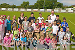 SPORTS: Pupils with their teachers from Derryquay National School, Blennerville, Tralee who held the end of the year sport day in St Pats GAA,Blennerville grounds on Friday.....