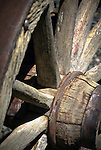Wagon wheel, Cant ranch musuem, near Sheep Rock, Oregon