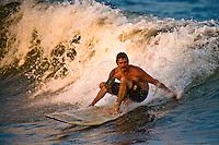 Surfing in Ocean City, Maryland.