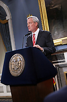 AUG 19 Mayor Bill de Blasio announces employment termination of NYPD Officer Daniel Pantaleo