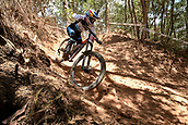7th September 2017, Smithfield Forest, Cairns, Australia; UCI Mountain Bike World Championships; Myriam Nicole (FRA) from COMMENCAL / VALLNORD during downhill practice
