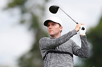 Russell Henley (USA) tees off on the 8th hole during the second round of the 118th U.S. Open Championship at Shinnecock Hills Golf Club in Southampton, NY, USA. 15th June 2018.<br /> Picture: Golffile | Brian Spurlock<br /> <br /> <br /> All photo usage must carry mandatory copyright credit (&copy; Golffile | Brian Spurlock)