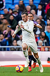 Gareth Bale of Real Madrid in action during the La Liga 2018-19 match between Real Madrid and Real Valladolid at Estadio Santiago Bernabeu on November 03 2018 in Madrid, Spain. Photo by Diego Souto / Power Sport Images