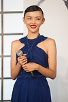 August 28, 2013 : Tokyo, Japan – Japanese model Rila Fukushima appears at the Japan Premiere for The Wolverine by James Mangold in the Roppongi Hills, Tokyo, Japan. (Photo by Yumeto Yamazaki/AFLO)