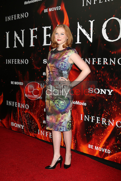 "Molly Quinn<br /> at the ""Inferno"" Los Angeles Premiere, DGA, Los Angeles, CA 10-25-16<br /> David Edwards/DailyCeleb.com 818-249-4998"