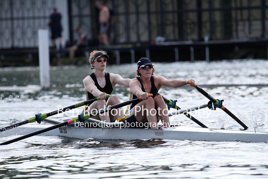 Race: 369 Event: S2x Final - Leeds RC/ York City RC  vs Bath Univ <br /> <br /> Henley Women's Regatta 2017<br /> <br /> To purchase this photo, or to see pricing information for Prints and Downloads, click the blue 'Add to Cart' button at the top-right of the page.