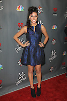 WEST HOLLYWOOD, CA - NOV 8: Sylvia Yacoub at the NBC's 'The Voice' Season 3 at House of Blues Sunset Strip on November 8, 2012 in West Hollywood, California.  Credit: mpi27/MediaPunch Inc. /NortePhoto.com