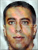 Washington, DC - September 26,  2001 -- Photo released by FBI of  Ziad Samir Jarrah, one of the alleged hijackers of United Airlines Boeing 757 designated as Flight #93, from Newark to San Francisco.  The flight departed Newark at 8:42 AM on Tuesday, September 11, 2001 and crashed in Stony Creek Township, PA at 10:03 AM..Credit: FBI via CNP