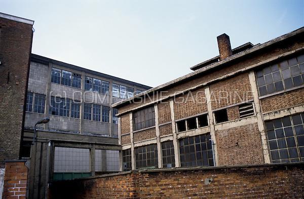 The former Den Hoorn / Interbrew / Stella-Artois breweries in Leuven (Belgium, 03/1996)