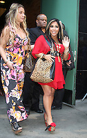 June 20, 2012: Nicole Polizzi aka Snooki at Good Morning America to talk about Jersey Shore MTV spin-off show with Snooki and JWoww in New York City. © RW/MediaPunch Inc. NORTEPHOTO<br />