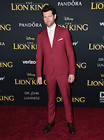 "09 July 2019 - Hollywood, California - Billy Eichner. Disney's ""The Lion King"" Los Angeles Premiere held at Dolby Theatre. Photo Credit: Birdie Thompson/AdMedia"