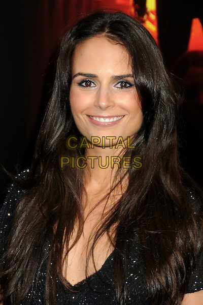 "JORDANA BREWSTER .""A Nightmare On Elm Street"" Los Angeles Premiere held at Grauman's Chinese Theatre, Hollywood, California, USA, 27th April 2010..portrait headshot smiling black sparkly beaded .CAP/ADM/BP.©Byron Purvis/AdMedia/Capital Pictures."