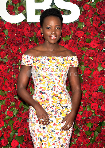 NEW YORK, NY - JUNE 12: Lupita Nyong'o at the 70th Annual Tony Awards at The Beacon Theatre on June 12, 2016 in New York City. Credit: John Palmer/MediaPunch