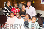 Father and Daughter  celebrate their birthdays with family at Darcys on Saturday Front l-r Chleo Tshikoto,Rico Tshikoto,who is celebrating his birthday,Nandy Tshikito and Tisha Tshikito.Back l-r Jackie Tshikoto,JR Tshikito,Emma Tshikito and Musa Tshikito from Oakpark Tralee