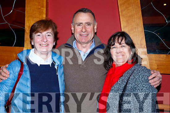 Kathleen and Patrick Woulfe and Mary O'Connor Abbeyfeale at the Padraig O'Keeffe festival all star concert in the River Island Hotel on Sunday night