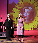 Cass Morgan and Lily McCarthy Green during the Celebrate the Life of Marin Mazzie Memorial Service at the Gershwin Theatre on October 25, 2018 in New York City.