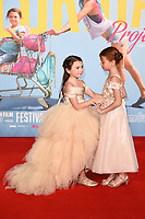 """Brooklyn Kimberly Prince and Valeria Cotto<br /> arriving for the London Film Festival 2017 screening of """"The Florida Project"""" at Odeon Leicester Square, London<br /> <br /> <br /> ©Ash Knotek  D3335  13/10/2017"""