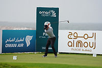 Ben Stow (ENG) on the 9th during Round 1 of the Oman Open 2020 at the Al Mouj Golf Club, Muscat, Oman . 27/02/2020<br /> Picture: Golffile   Thos Caffrey<br /> <br /> <br /> All photo usage must carry mandatory copyright credit (© Golffile   Thos Caffrey)
