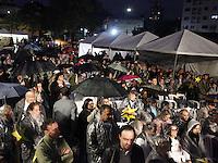 SAO PAULO, SP, 17 JULHO 2012 - MEMORIAL 17 JULHO - Missa no Memorial 17 de Julho, inauguarado hoje em homenagem às 199 vítimas do acidente do voo TAM JJ 3054, que caiu no local no ano de 2007, ao lado do Aeroporto de Congonhas, na zona sul de São Paulo.<br />  (FOTO: ADRIANA SPACA / BRAZIL PHOTO PRESS).