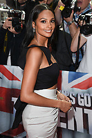 Alesha Dixon arriving at the launch of Britain's Got Talent 2017, Mayfair Hotel, London.   <br /> 12 April  2017<br /> Picture: Steve Vas/Featureflash/SilverHub 0208 004 5359 sales@silverhubmedia.com