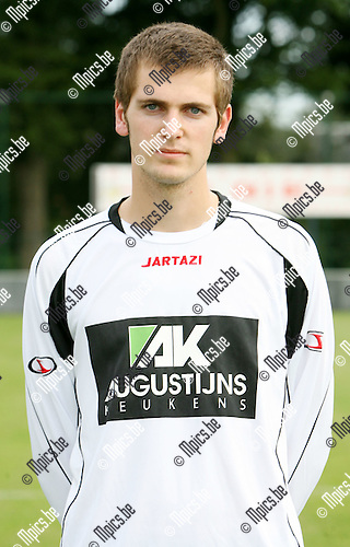 2009-08-05 / Seizoen 2009-2010 / Voetbal / Wuustwezel / Glen Arnauts..Foto: Maarten Straetemans (SMB)