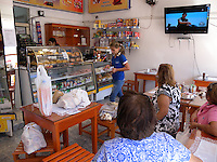 Route 1 Cafe, traditional village cafe, Paraguay