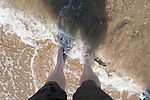 Feet in the Adriatic Sea, Revenna, Italy