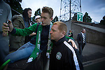 New Hibernian manager Neil Lennon posing for a selfie with a young fan after the Scottish Cup winners took on hosts Edinburgh City in a pre-season friendly at Meadowbank Stadium. The match was City's first at the Commonwealth Stadium since they gained promotion from the Lowland League to the Scottish League in May 2016. A record crowd for a City match of 2500 spectators saw the visitors run out 6-1 winners.