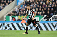 Newcastle United's Dwight Gayle<br /> <br /> Photographer Rich Linley/CameraSport<br /> <br /> The Premier League -  Newcastle United v Liverpool - Sunday 1st October 2017 - St James' Park - Newcastle<br /> <br /> World Copyright &copy; 2017 CameraSport. All rights reserved. 43 Linden Ave. Countesthorpe. Leicester. England. LE8 5PG - Tel: +44 (0) 116 277 4147 - admin@camerasport.com - www.camerasport.com