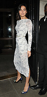 Doina Ciobanu at the LFW (Men's) a/w2018 GQ Dinner, Berners Tavern, The London Edition Hotel, Berners Street, London, England, UK, on Monday 08 January 2018.<br /> CAP/CAN<br /> &copy;CAN/Capital Pictures