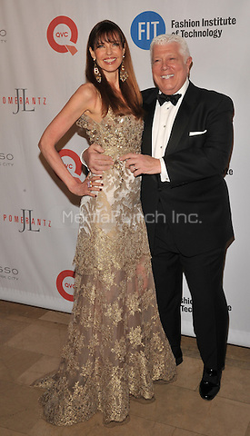 New York,NY- May 9:  Carol Alt, Dennis Basso at the 2016 FIT Annual Gala in New York City on May 9, 2016. Credit: John Palmer / MediaPunch