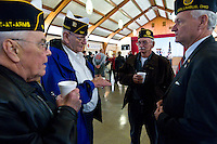 An open house for Young-Budd Post 171 of the American Legion's new home on East College Street. Photo Copyright Gary Gardiner. Not be used without written permission detailing exact usage.