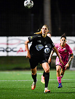 Woluwe's Marie Bougard (10) pictured during a female soccer game between Sporting Charleroi and FC Femina White Star Woluwe on the second matchday of the 2020 - 2021 season of Belgian Scooore Women s SuperLeague , friday 4 th of September 2020  in Marcinelle , Belgium . PHOTO SPORTPIX.BE | SPP | DAVID CATRY