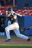 Pittsburgh Panthers Kevan Smith #12 during a game vs. the Central Michigan Chippewas at Chain of Lakes Park in Winter Haven, Florida;  March 11, 2011.  Pittsburgh defeated Central Michigan 19-2.  Photo By Mike Janes/Four Seam Images