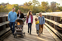 Photographed the Napier family for The Journey FM promotional images downtown by Percival's Island trail on October 4, 2018. (Photo by Kevin Manguiob)