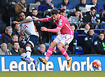 Tottenham's Danny Rose tussles with Bournemouth's Adam Smith during the Premier League match at White Hart Lane Stadium.  Photo credit should read: David Klein/Sportimage