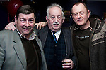 Leonard Hatrick, Donnchadha Macraghnaill and Albert Byrne at Gerald Nash's Election Party in the Purple Room..Picture: Shane Maguire / www.newsfile.ie