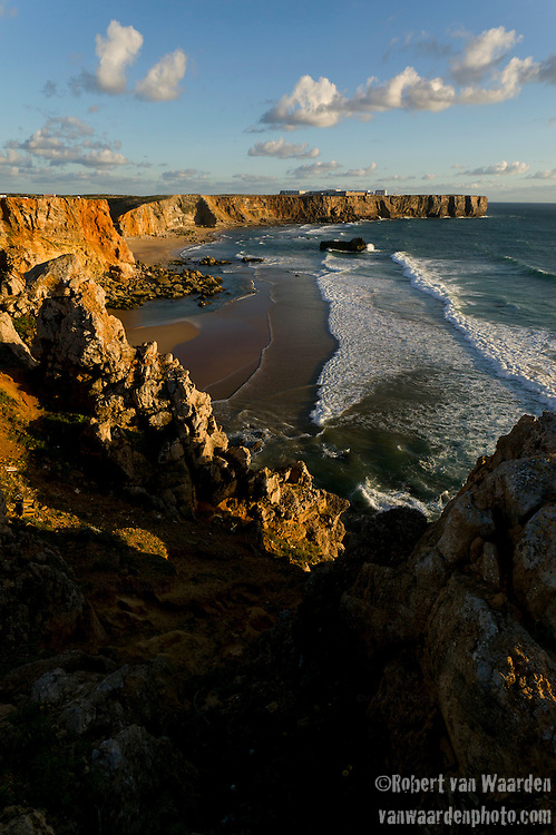 The cliffs of Sagres in SouthWest Portugal