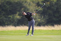 Kristian Krogh Johannessen (NOR) on the 2nd fairway during Round 1 of the Bridgestone Challenge 2017 at the Luton Hoo Hotel Golf &amp; Spa, Luton, Bedfordshire, England. 07/09/2017<br /> Picture: Golffile | Thos Caffrey<br /> <br /> <br /> All photo usage must carry mandatory copyright credit     (&copy; Golffile | Thos Caffrey)