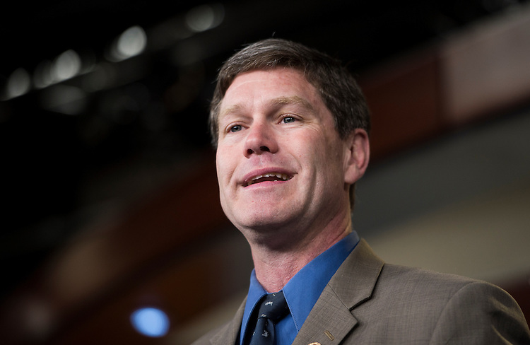 """UNITED STATES - APRIL 11: Rep. Ron Kind, D-Wis. holds a news conference on the New Democrat Coalition Immigration Task Force's release of """"immigration reform principles"""" on Thursday, April 11, 2013. (Photo By Bill Clark/CQ Roll Call)"""