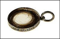 Lock of Nelson's hair worth £3,000.