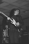 Elliot Easton of The Cars performing at NAMM 1987.