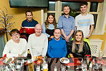 Michael Morris from Lis Rua Cahermoneen celebrating his birthday on Saturday.<br /> Seated l to r: Helen Morris, Simon Heddle, Michael and Selina Morris.<br /> Back l to r: Robert and Chloe Morris, Christopher O'Shea and Conor Morris.