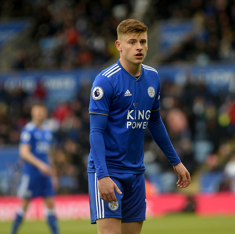 Leicester City's Harvey Barnes<br /> <br /> Photographer Hannah Fountain/CameraSport<br /> <br /> The Premier League - Leicester City v Manchester United - Sunday 3rd February 2019 - King Power Stadium - Leicester<br /> <br /> World Copyright © 2019 CameraSport. All rights reserved. 43 Linden Ave. Countesthorpe. Leicester. England. LE8 5PG - Tel: +44 (0) 116 277 4147 - admin@camerasport.com - www.camerasport.com