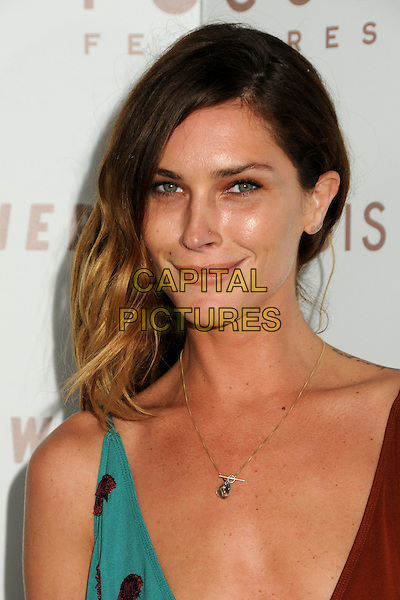 """ERIN WASSON.""""Somewhere"""" Los Angeles Premiere held at Arclight Cinemas, Hollywood, California, USA, .7th December 2010..portrait headshot root dyed hair brown turquoise gold necklace silver charm .CAP/ADM/BP.©Byron Purvis/AdMedia/Capital Pictures."""