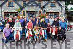 Mid Kerry Honda 50 club who had a charity run in aid of the Buy A Bus campaign in Beaufort on Sunday